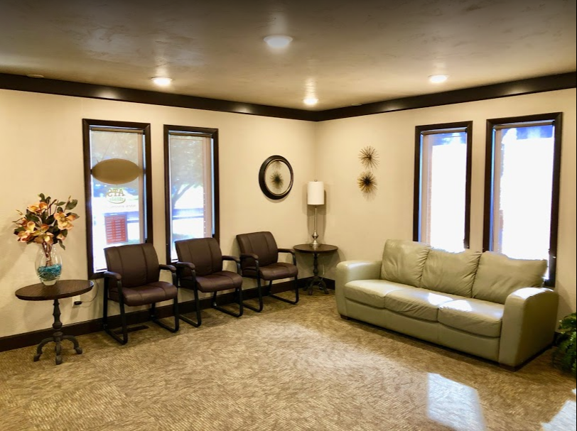 Priority Dental's dentist office waiting room in Casper Wyoming